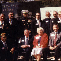 Seventeen Saigon Marines and Mr. & Mrs. Judge and Heidi who is representing the deceased Jim Daisy