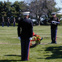 24th Marines Honor Guard Support