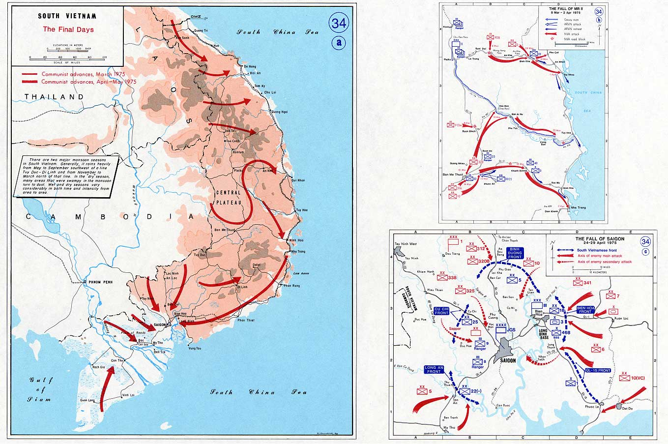 South Vietnam - The final days 1975